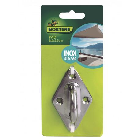 Accesorio para instalación velas de sombreo PAD Nortene