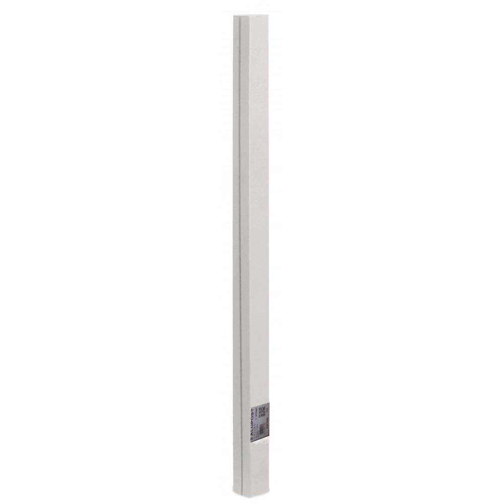 Poste de aluminio 1,975 x 0,06 m ALUPOST blanco Nortene