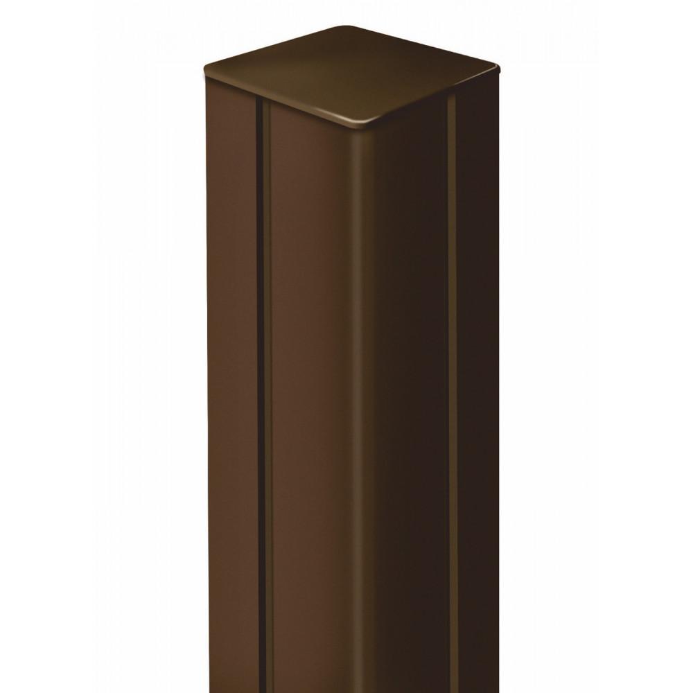 Poste de aluminio 1,975 x 0,06 m ALUPOST marrón Nortene