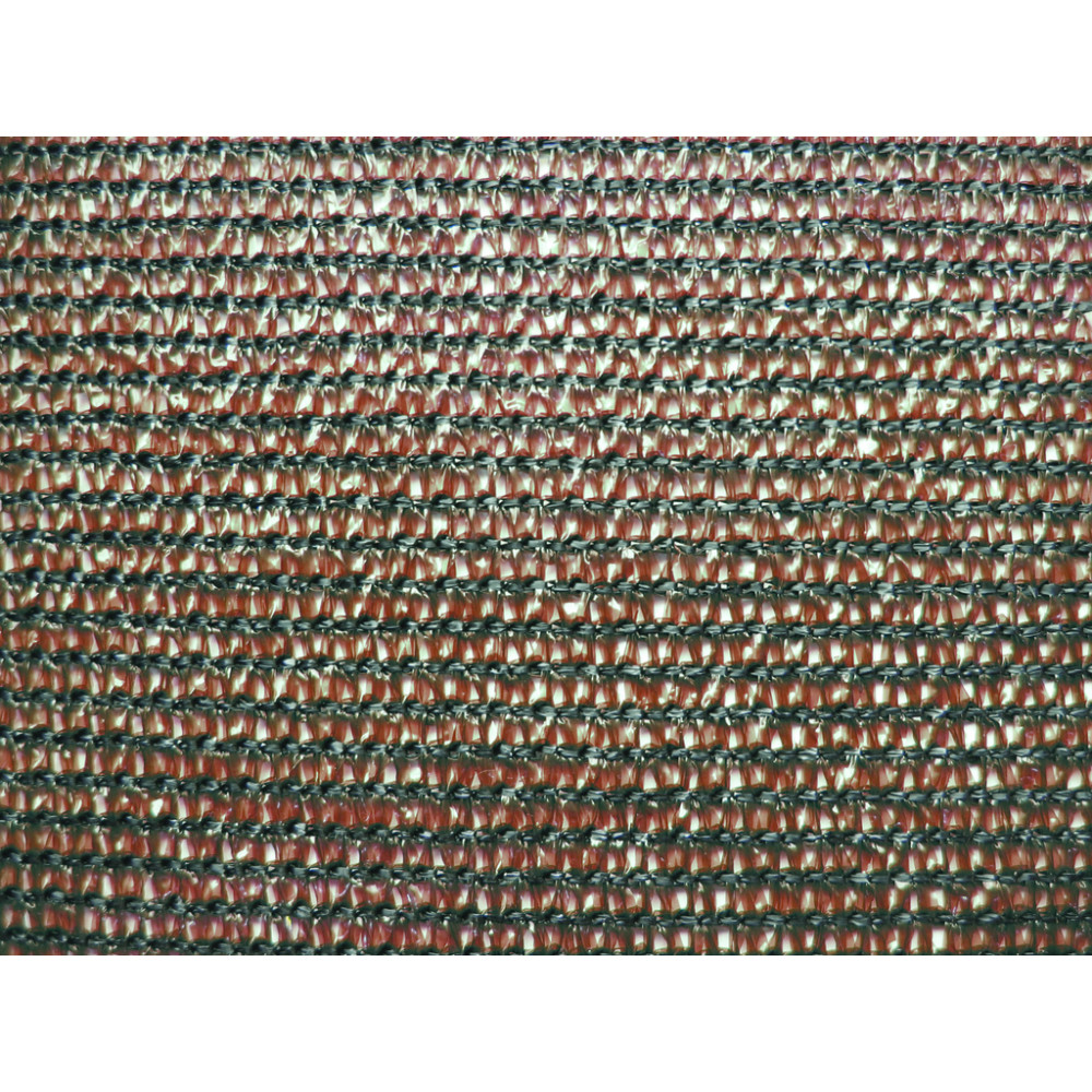 Malla ocultación tejida 1,5 x 10 m 80% EXTRANET marrón Nortene