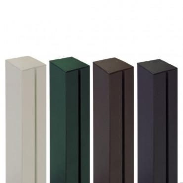 Poste de aluminio 1,15 x 0,06 m ALUPOST verde Nortene