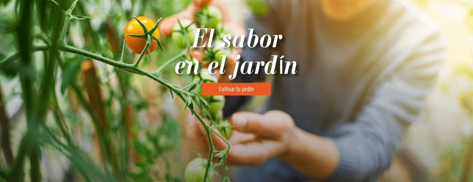 El sabor en el jardín